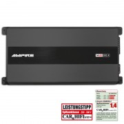 AMPIRE MdB200.4-BLK Endstufe, 4x 200 Watt, LIMITED BLACK EDITION