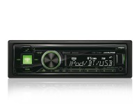 Autoradio Alpine CDE-173BT mit Bluetooth USB und iPod / iPhone Steuerung