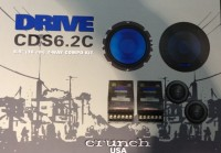 Crunch CDS6.2C 2 Wege System