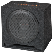 Match MW 12E-D - Subwoofer in Bassreflex-Gehäuse