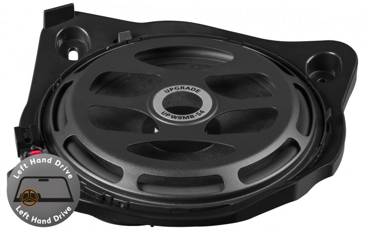 Match UP W8MB-S4 LHD Single Einzeltieftöner - Subwoofer Upgrade für Mercedes