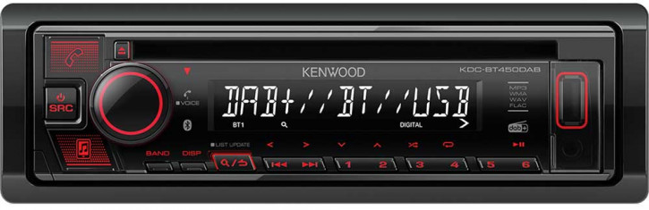 Kenwood KDC-BT450DAB