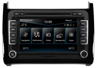 ESX Naviceiver VN720 VO-P6C-Black Navigation für VW Polo 6C