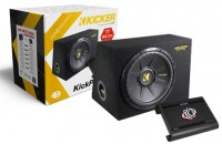 Kicker KPX200.2 - Car Hifi Set