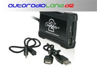 USB Interface Renault 2009-> alle Modelle mit Quadlock