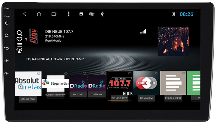 """ESX VN1015-MADAB - Universal 10"""" Doppel-DIN Android"""