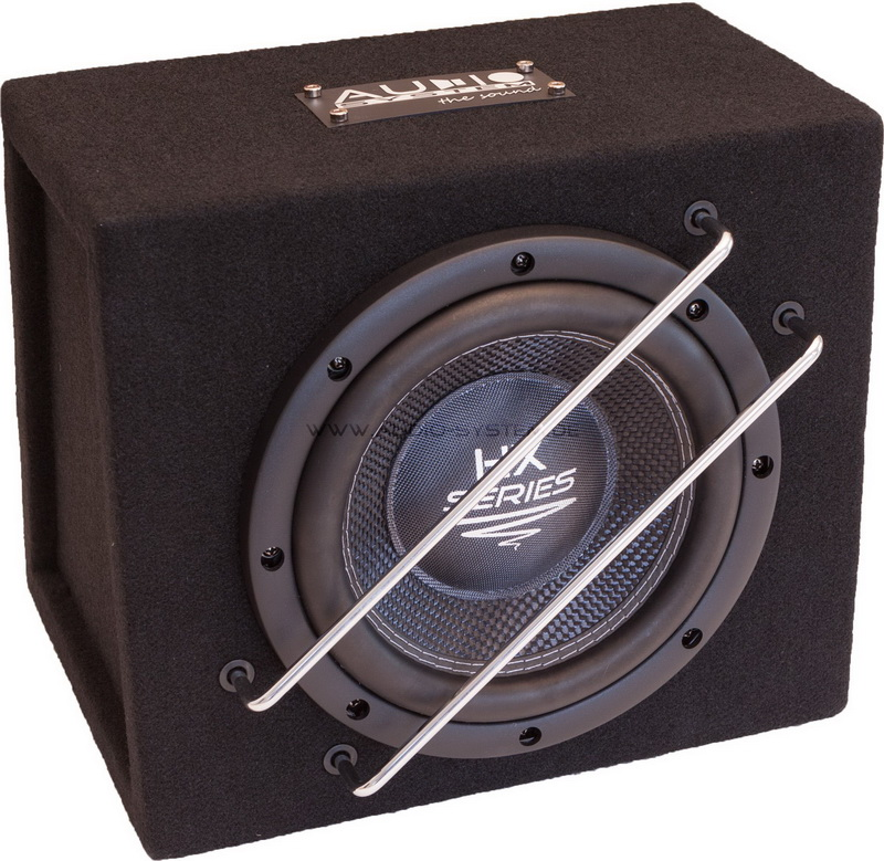audio system 20 cm geh usesubwoofer hx 08 sq g. Black Bedroom Furniture Sets. Home Design Ideas