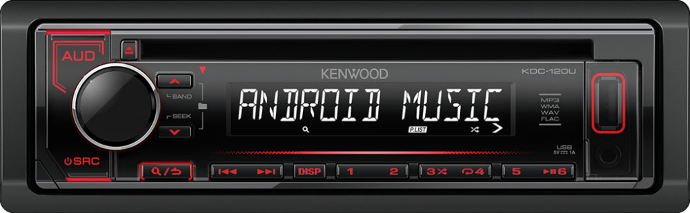 autoradio kenwood car hifi kenwood kdc 120ur online kaufen. Black Bedroom Furniture Sets. Home Design Ideas